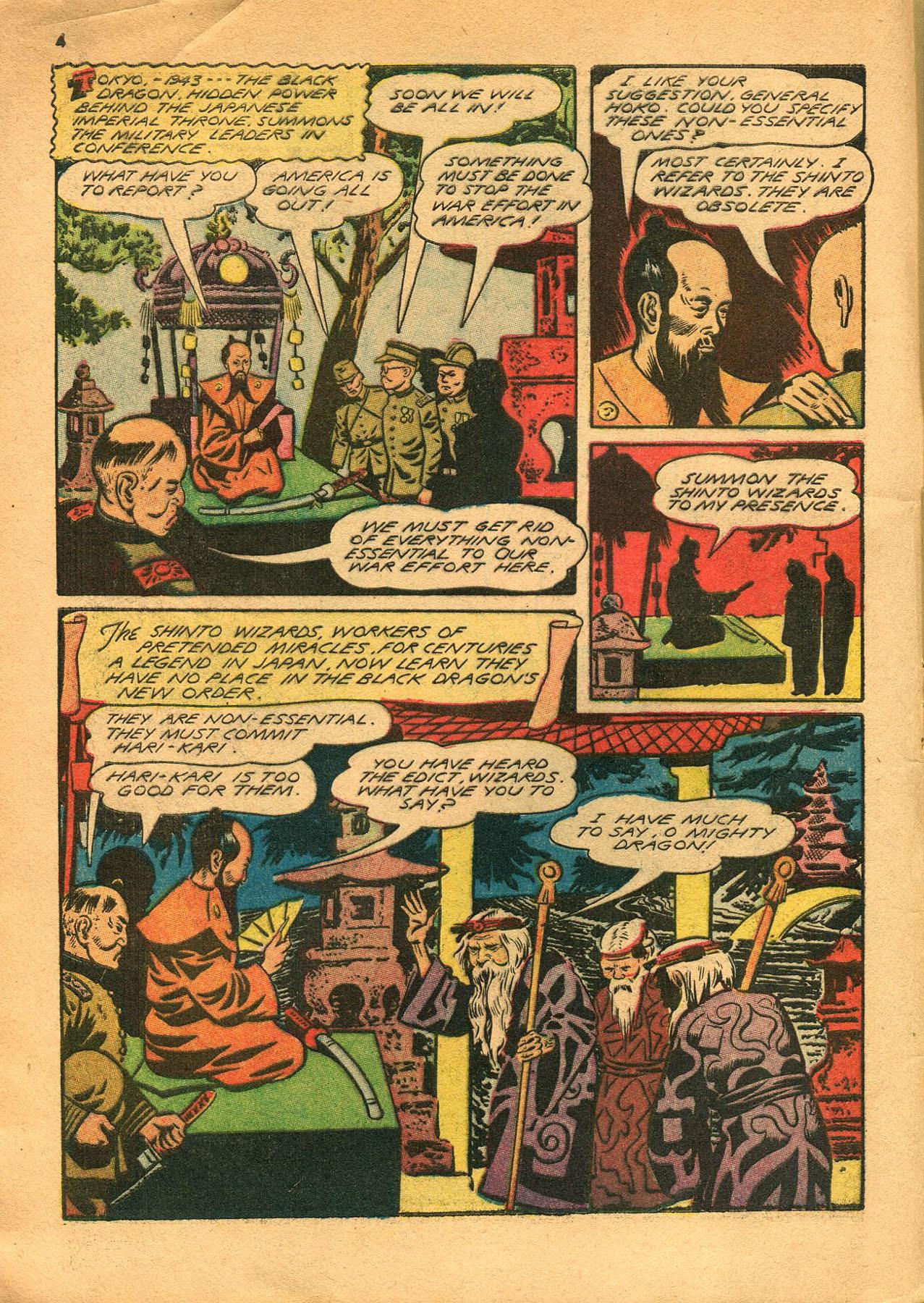 Read online Shadow Comics comic -  Issue #23 - 4