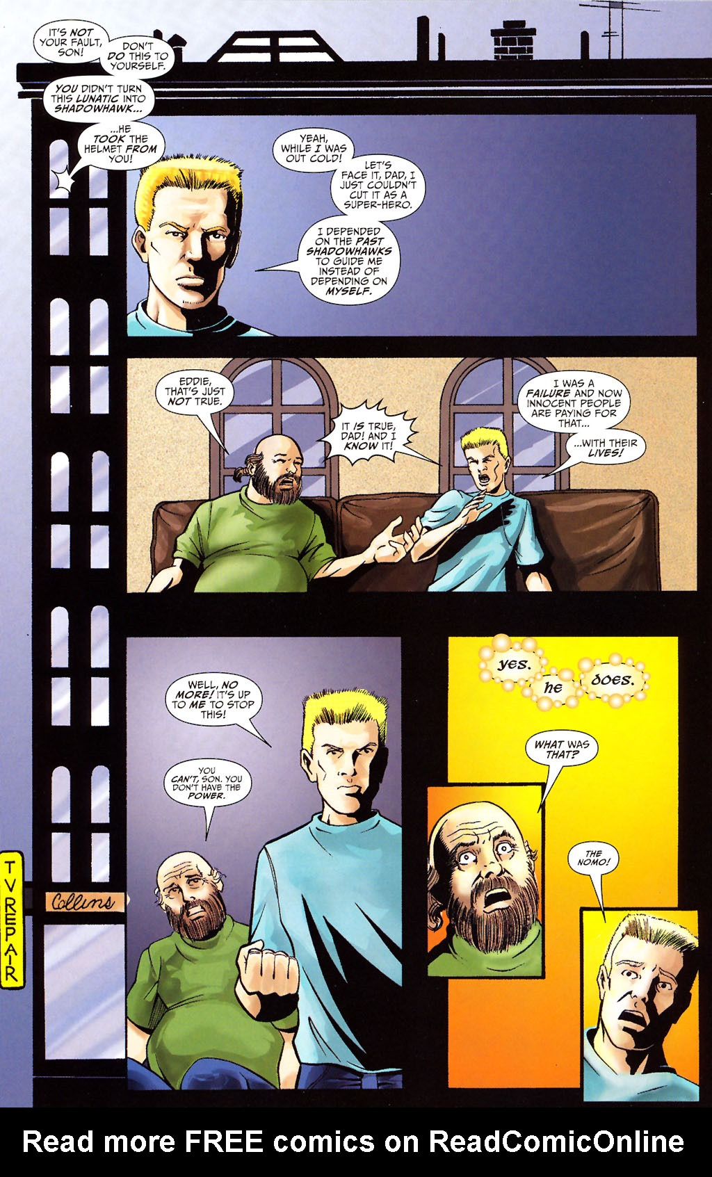 Read online ShadowHawk (2005) comic -  Issue #12 - 8