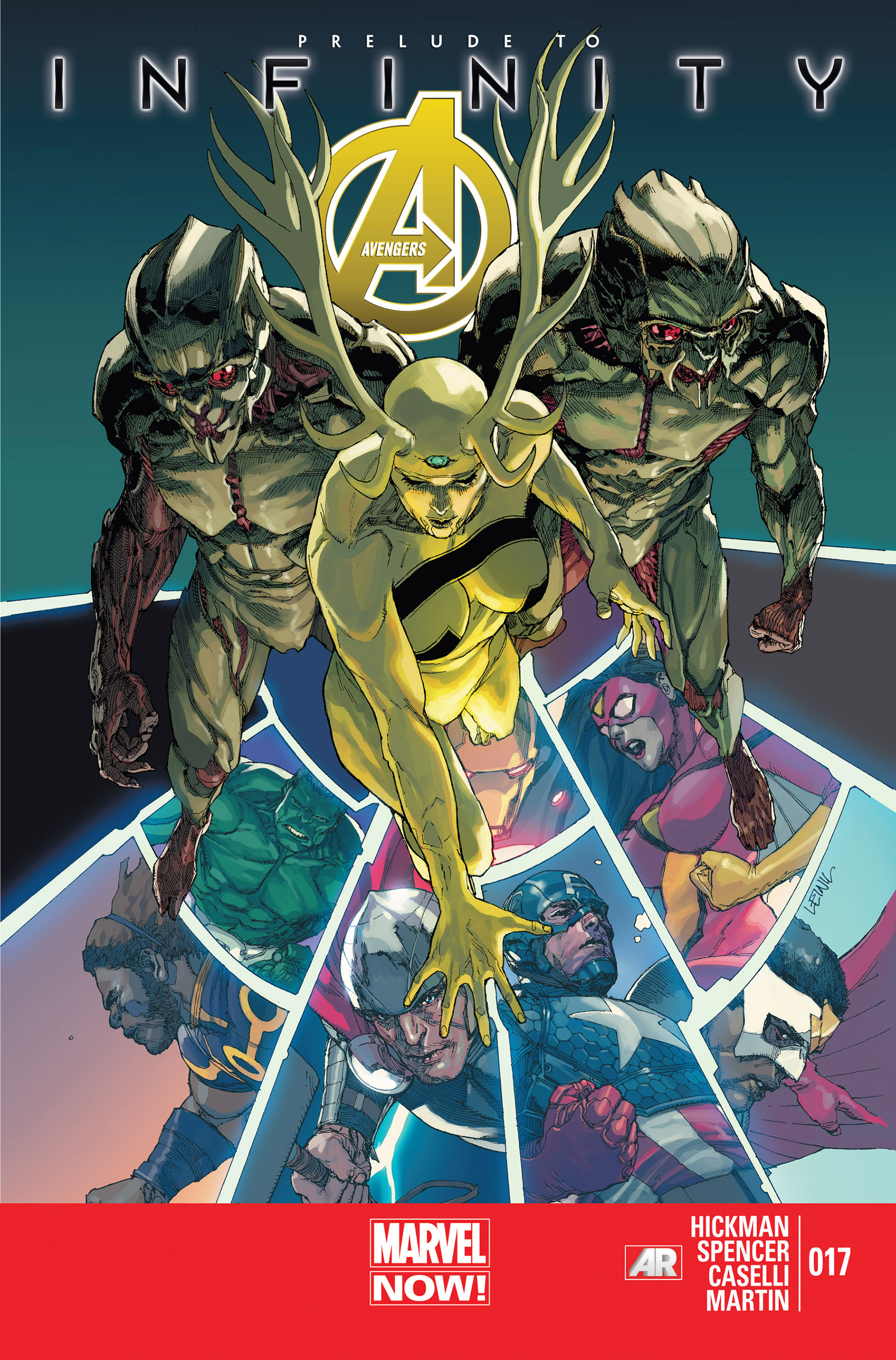 Read online Avengers (2013) comic -  Issue #17 - 1