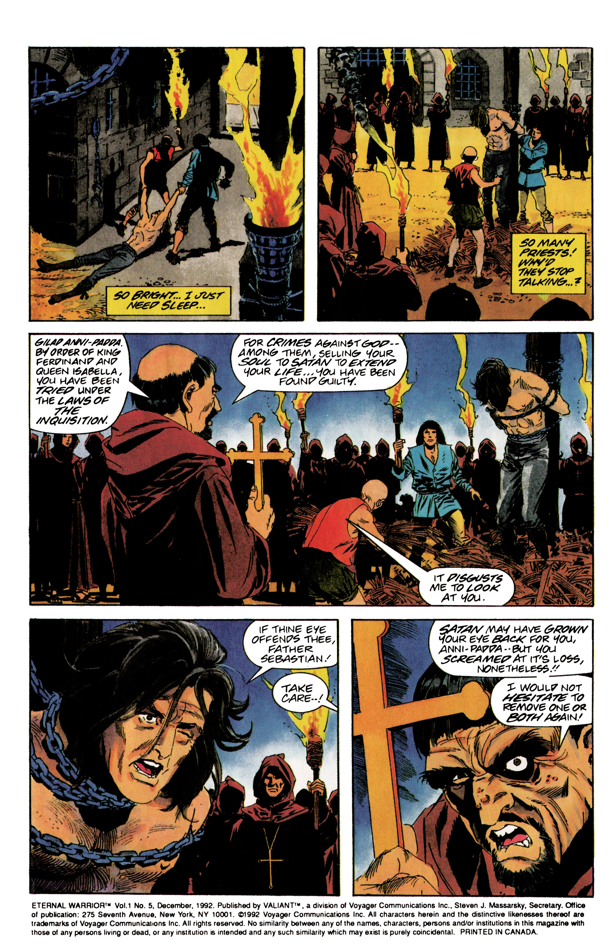 Read online Eternal Warrior (1992) comic -  Issue #5 - 3