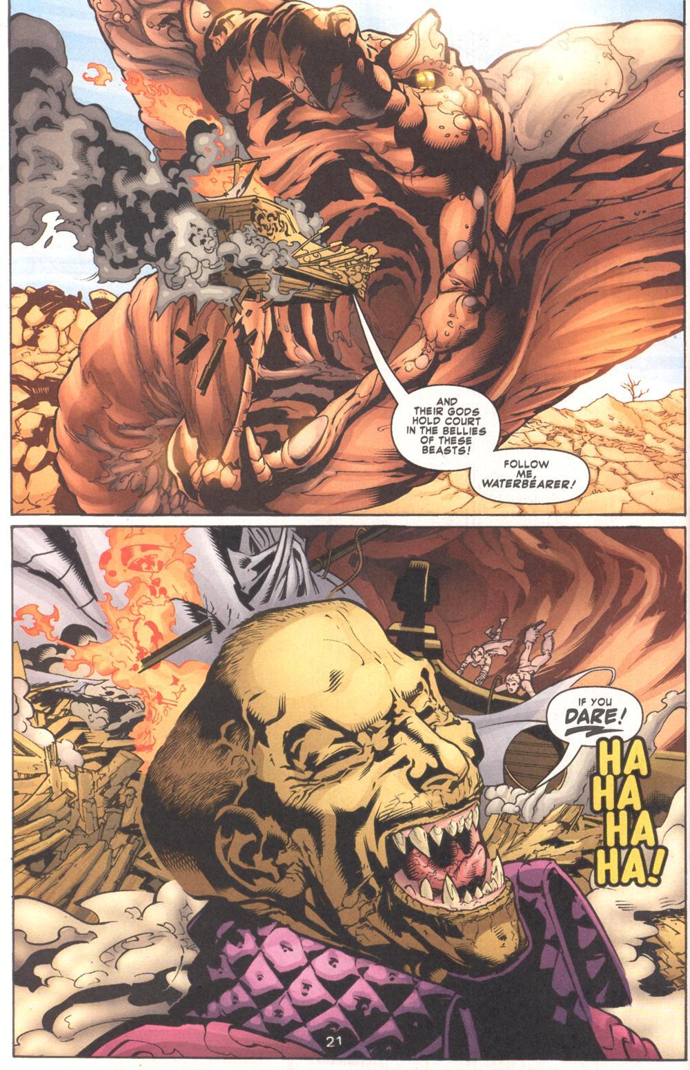 Read online Aquaman (2003) comic -  Issue #9 - 23