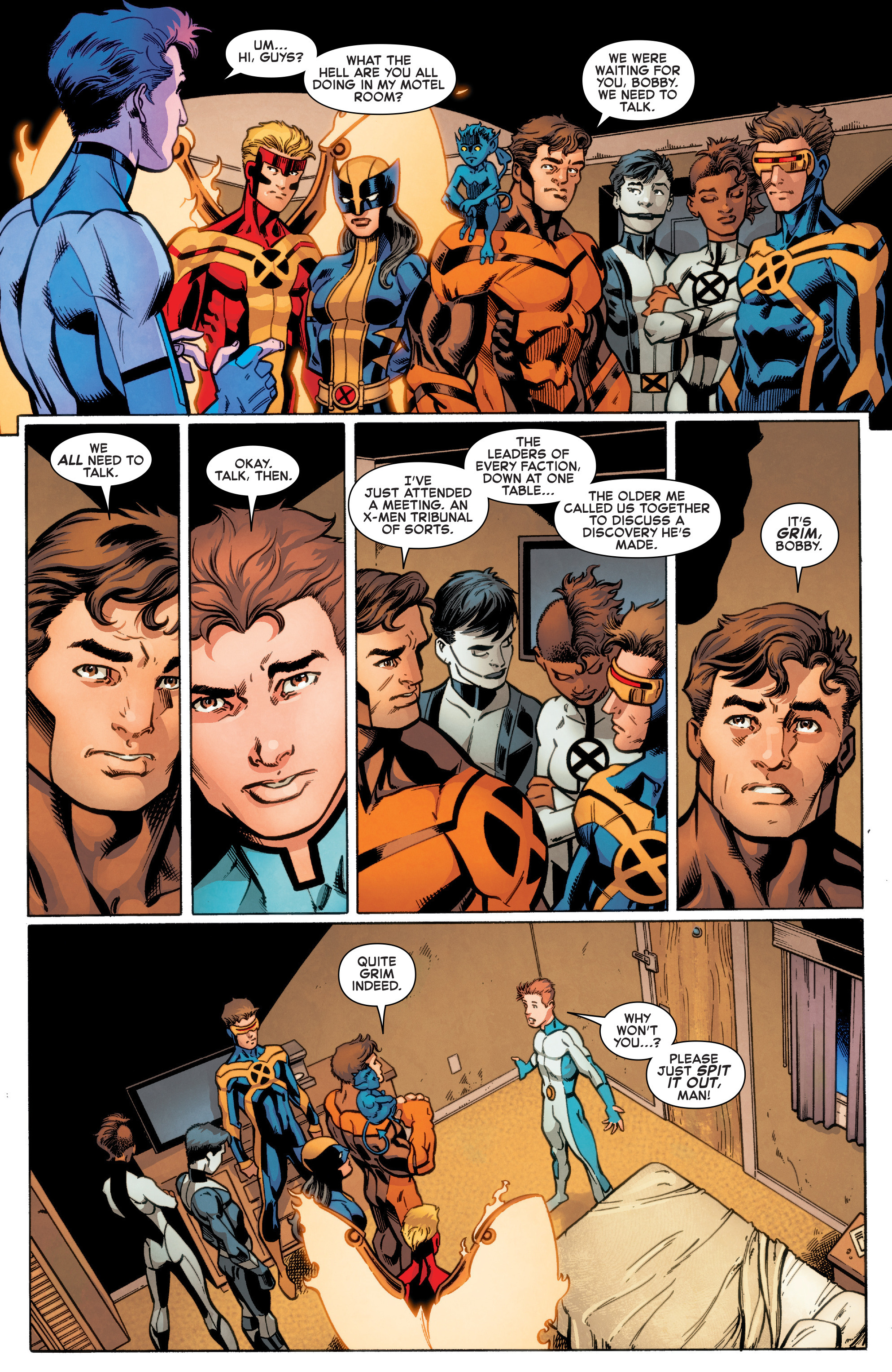Read online All-New X-Men (2016) comic -  Issue #17 - 5