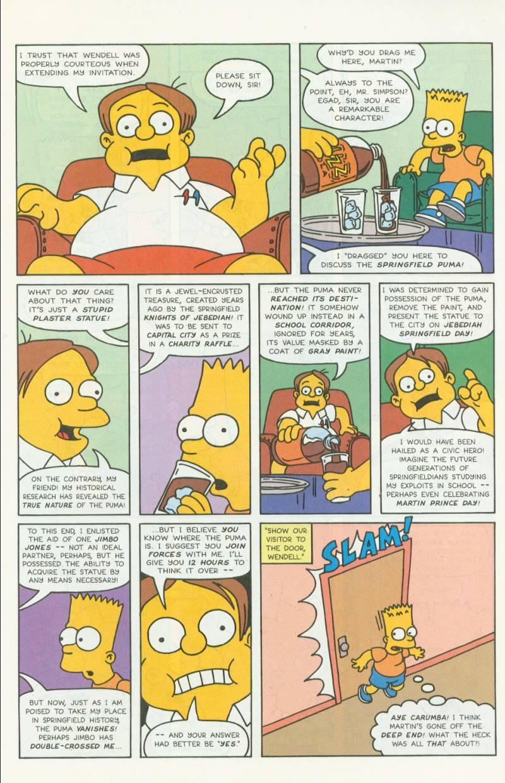 Read online Simpsons Comics comic -  Issue #3 - 12