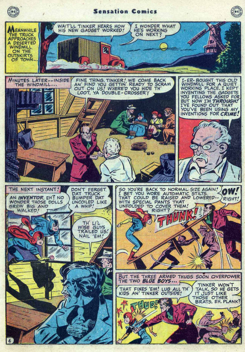 Read online Sensation (Mystery) Comics comic -  Issue #82 - 20