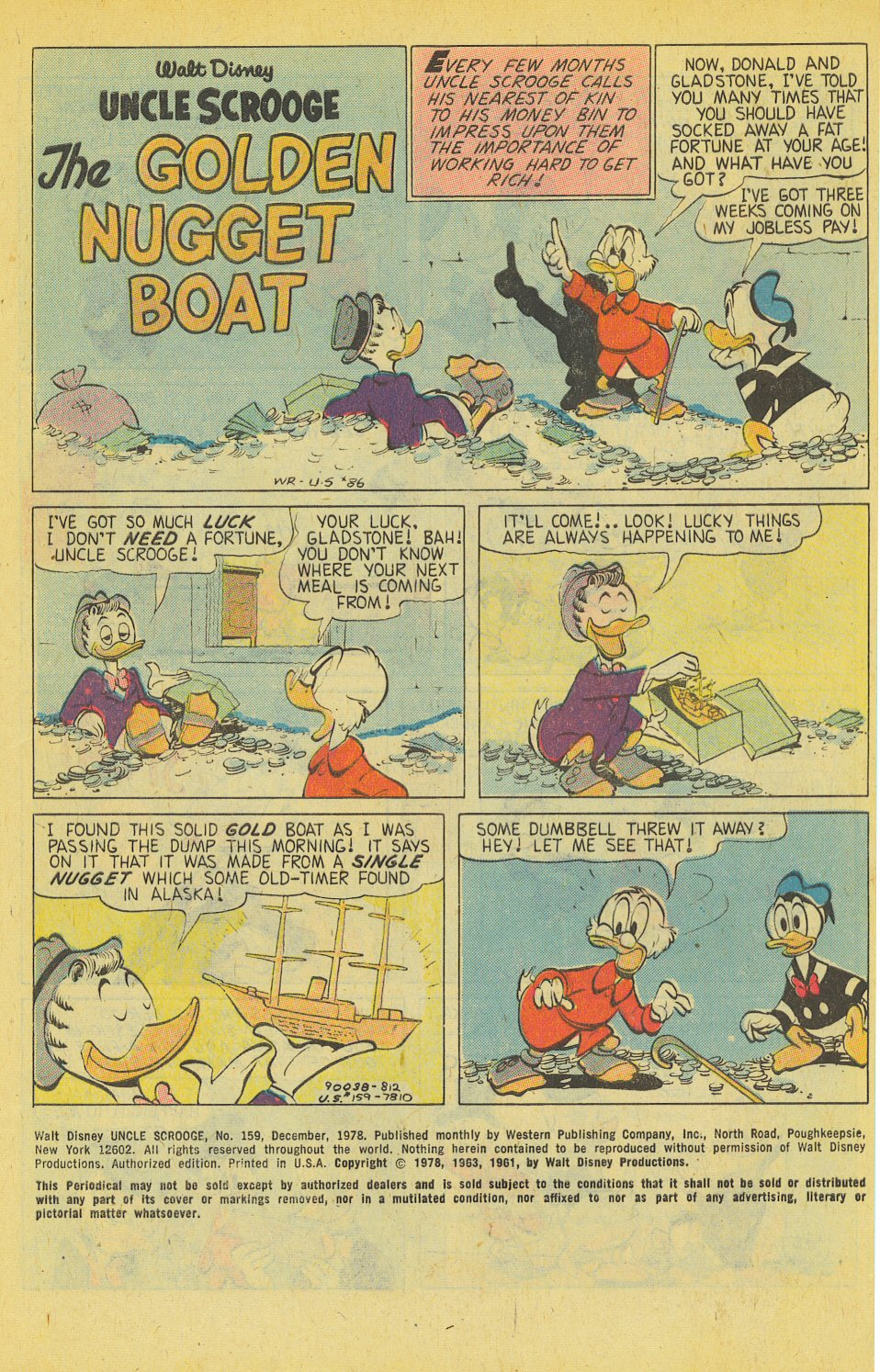 Read online Uncle Scrooge (1953) comic -  Issue #159 - 3