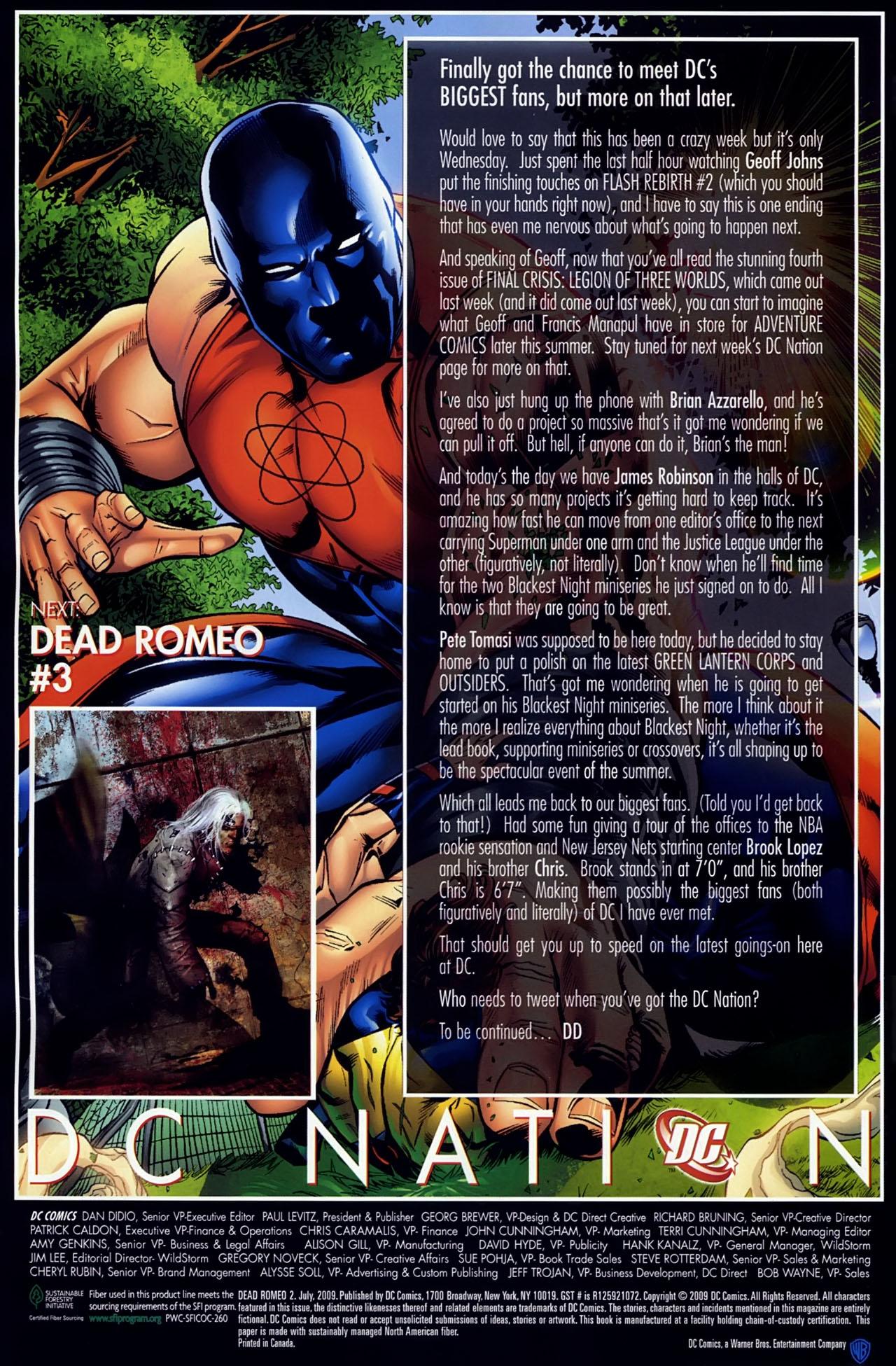 Read online Dead Romeo comic -  Issue #2 - 22