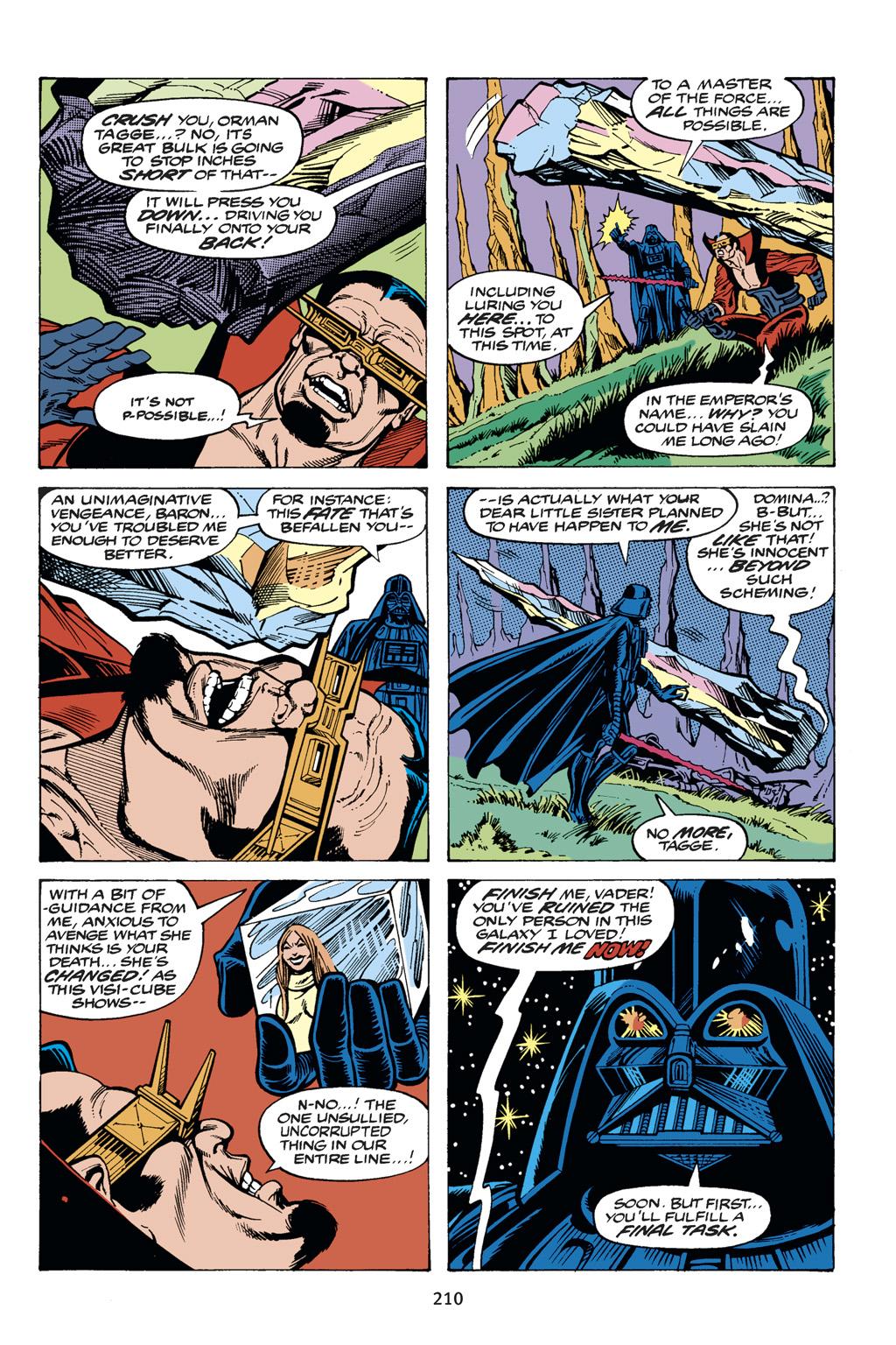 Read online Star Wars Omnibus comic -  Issue # Vol. 14 - 209