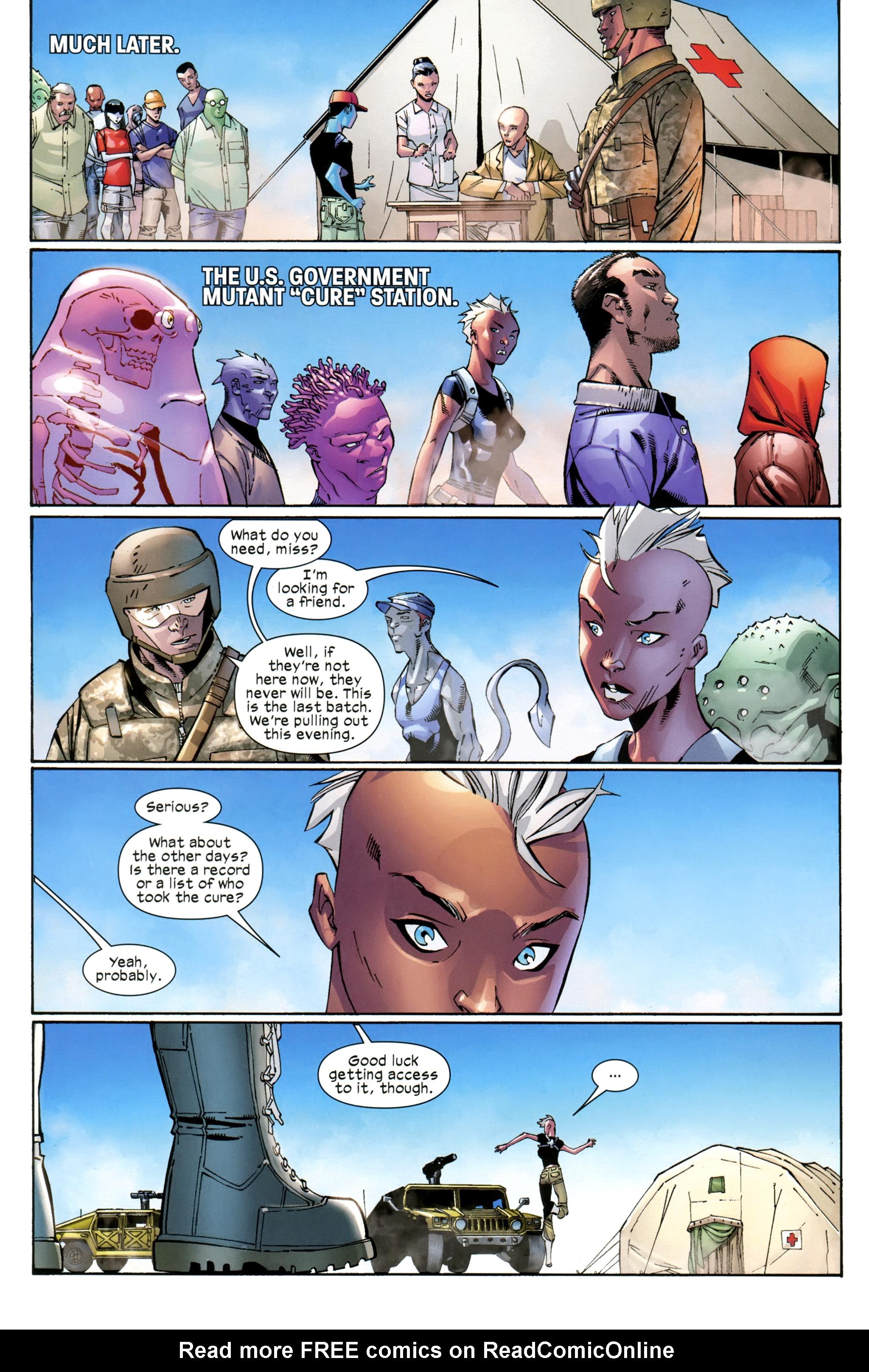 Read online Ultimate Comics X-Men comic -  Issue #23 - 18