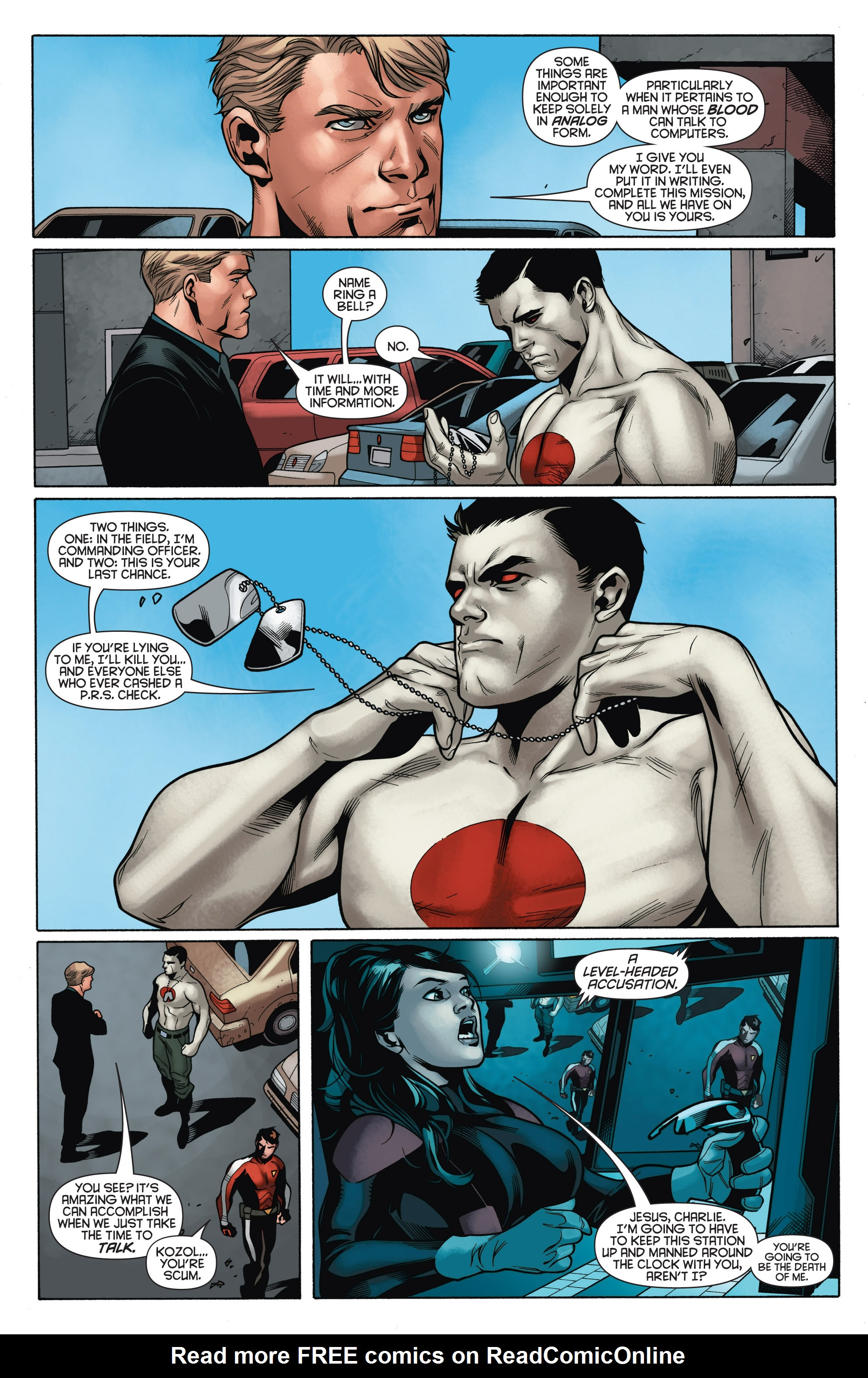 Read online Bloodshot and H.A.R.D.Corps comic -  Issue # TPB 4 - 49