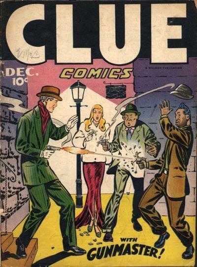 Clue Comics 11 Page 1