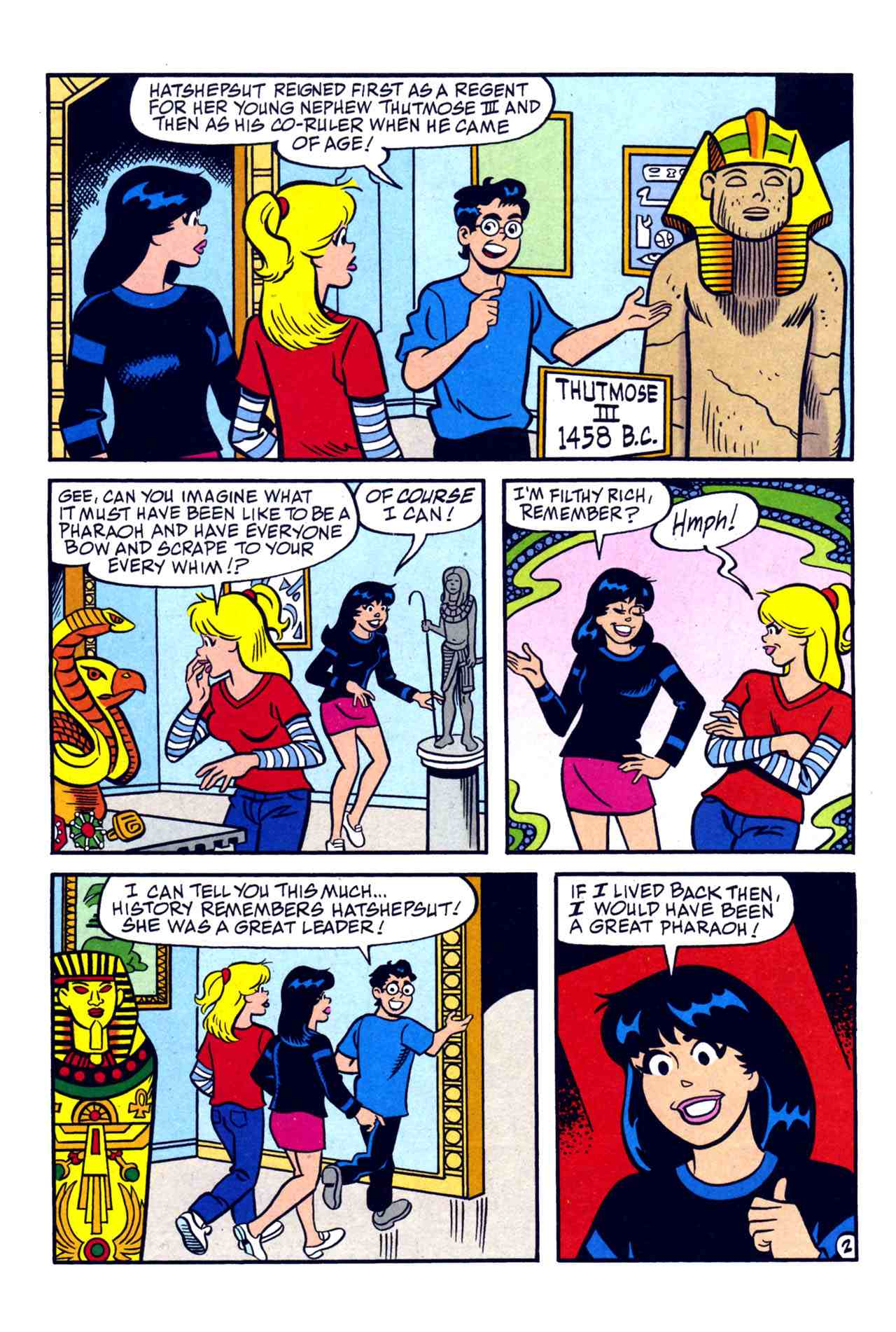 Read online Archie's Girls Betty and Veronica comic -  Issue #230 - 3