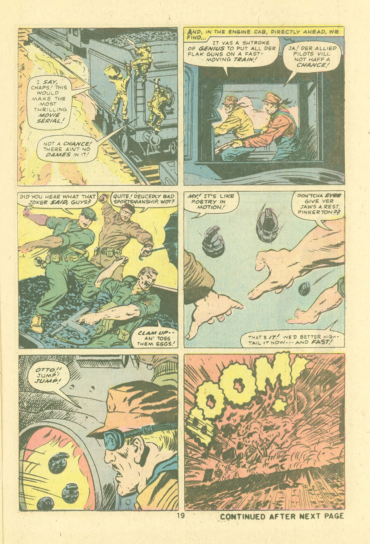 Read online Sgt. Fury comic -  Issue #124 - 21