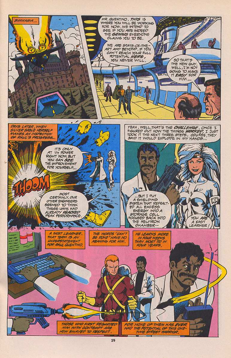 Read online Silver Sable and the Wild Pack comic -  Issue #22 - 22