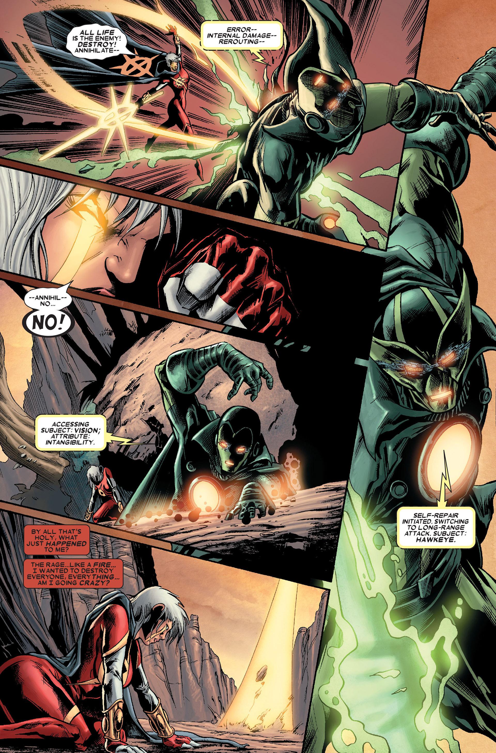 Read online Annihilation: Conquest - Quasar comic -  Issue #1 - 9