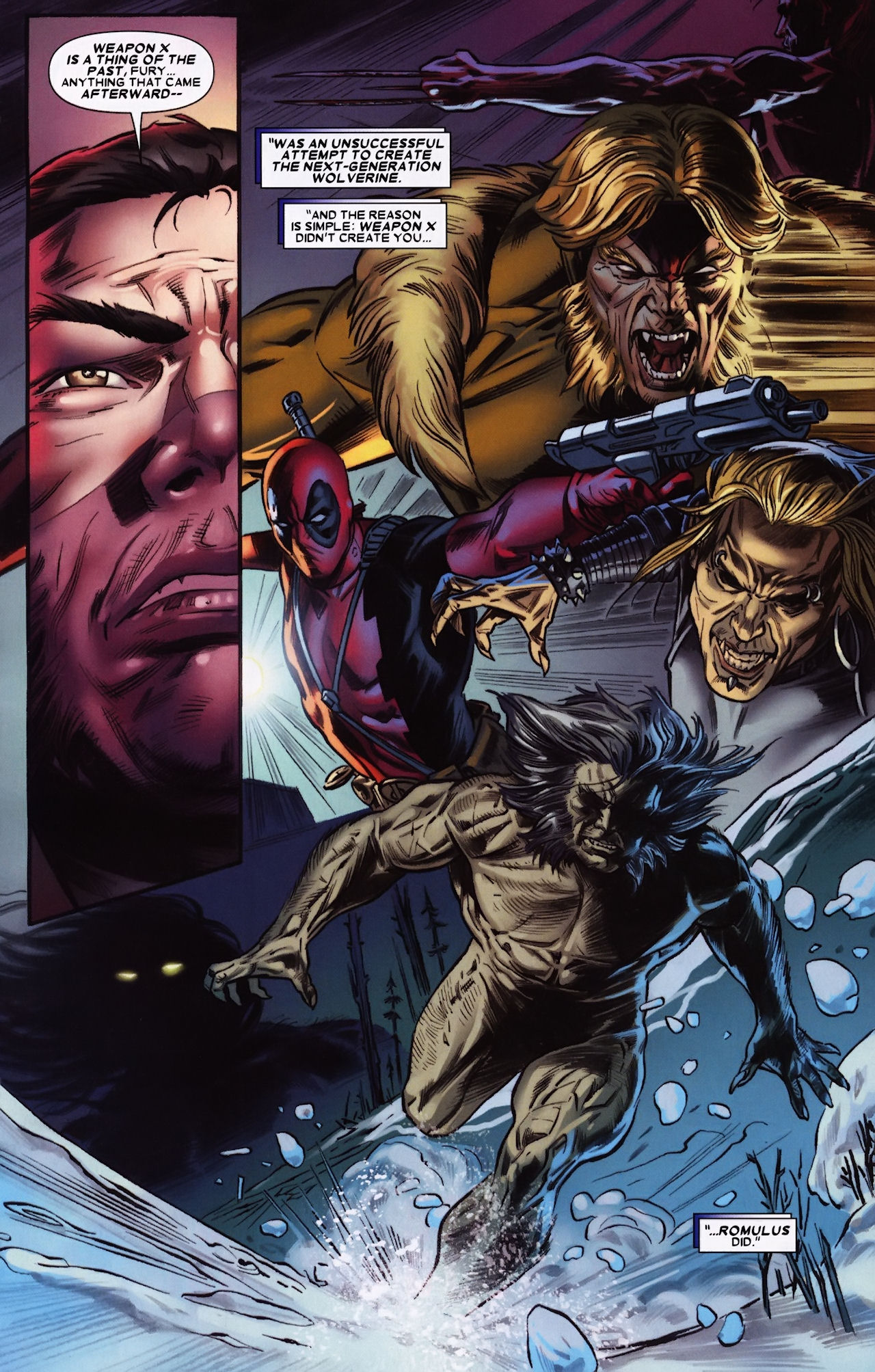 Read online Wolverine: Origins comic -  Issue #33 - 16