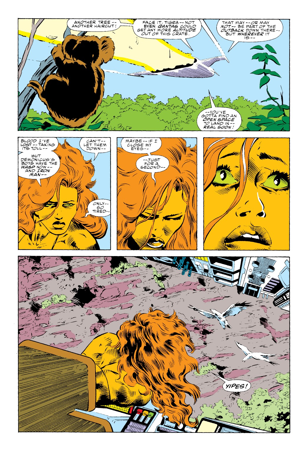 Avengers West Coast (1989) issue 73 - Page 3