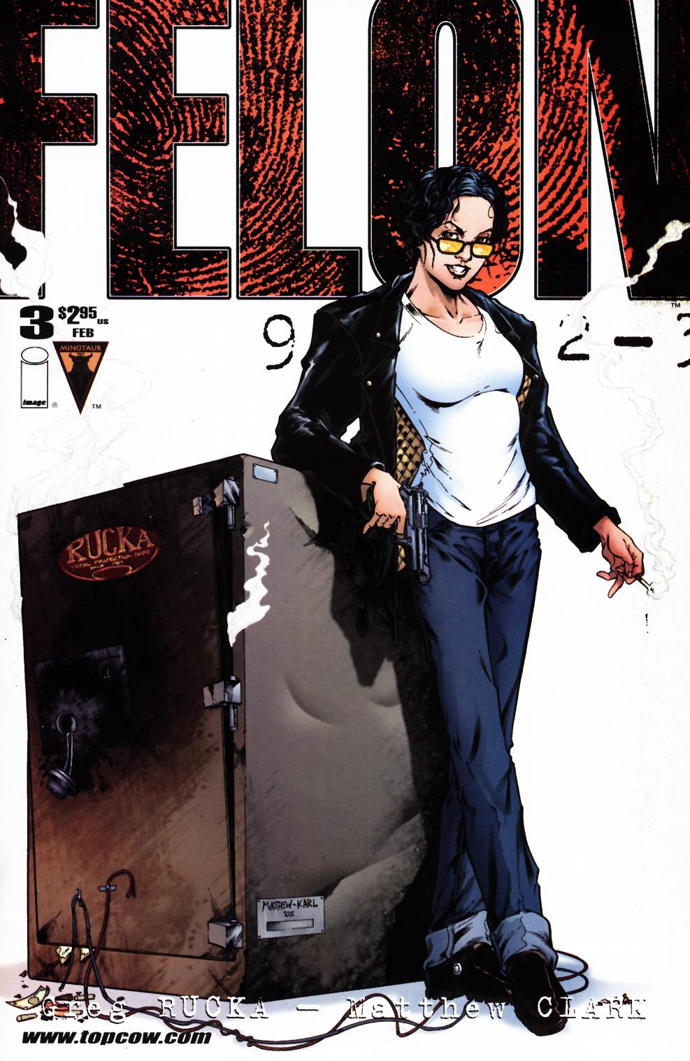 Read online Felon comic -  Issue #3 - 1