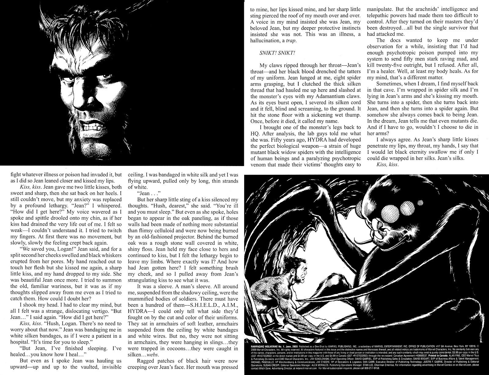 Read online Rampaging Wolverine comic -  Issue # Full - 35