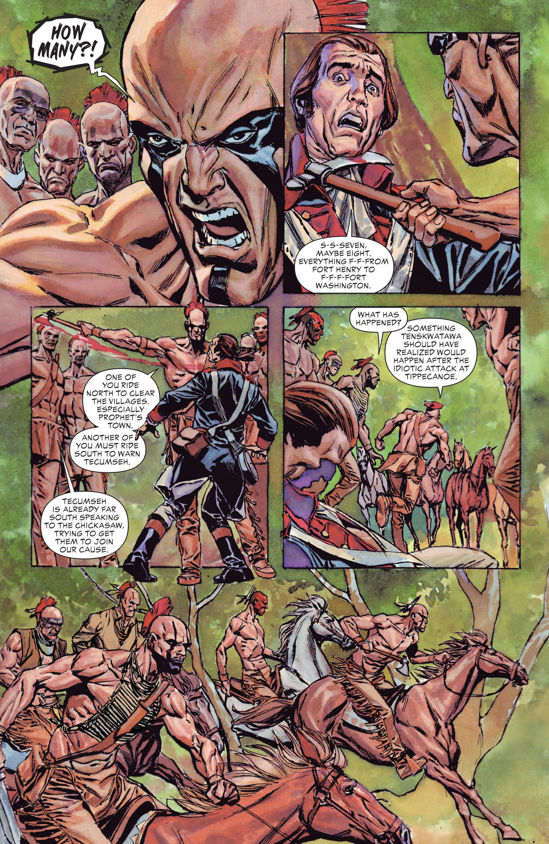 Read online All-Star Western (2011) comic -  Issue #13 - 27