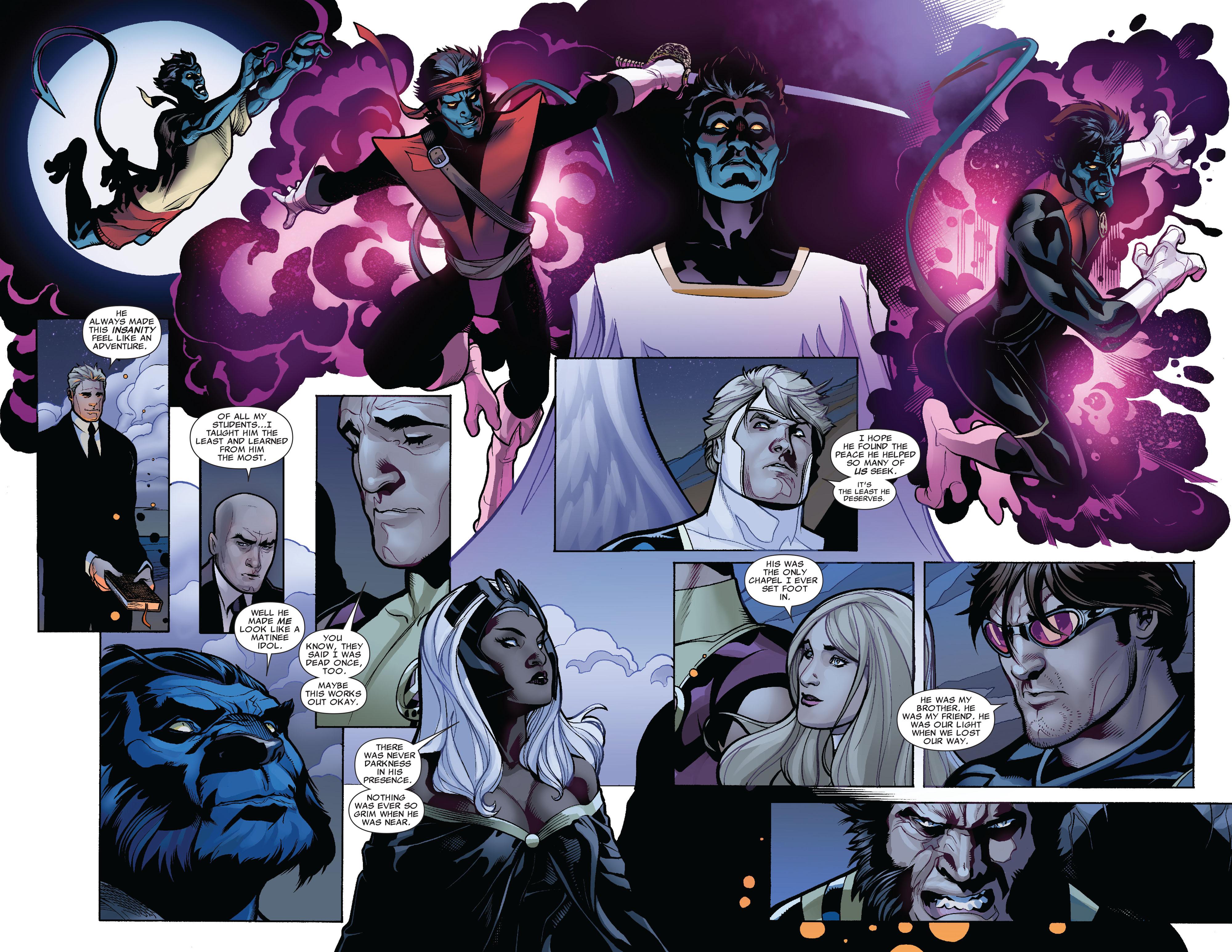 Read online Uncanny X-Men (1963) comic -  Issue #524 - 21