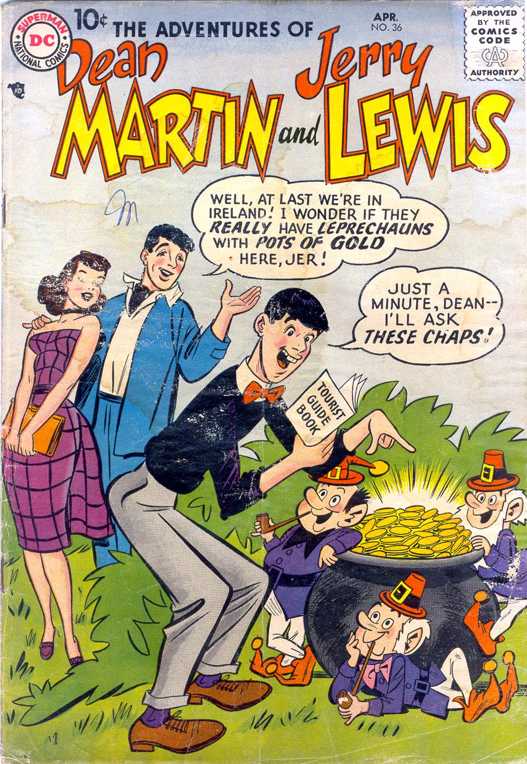 The Adventures of Dean Martin and Jerry Lewis 36 Page 1