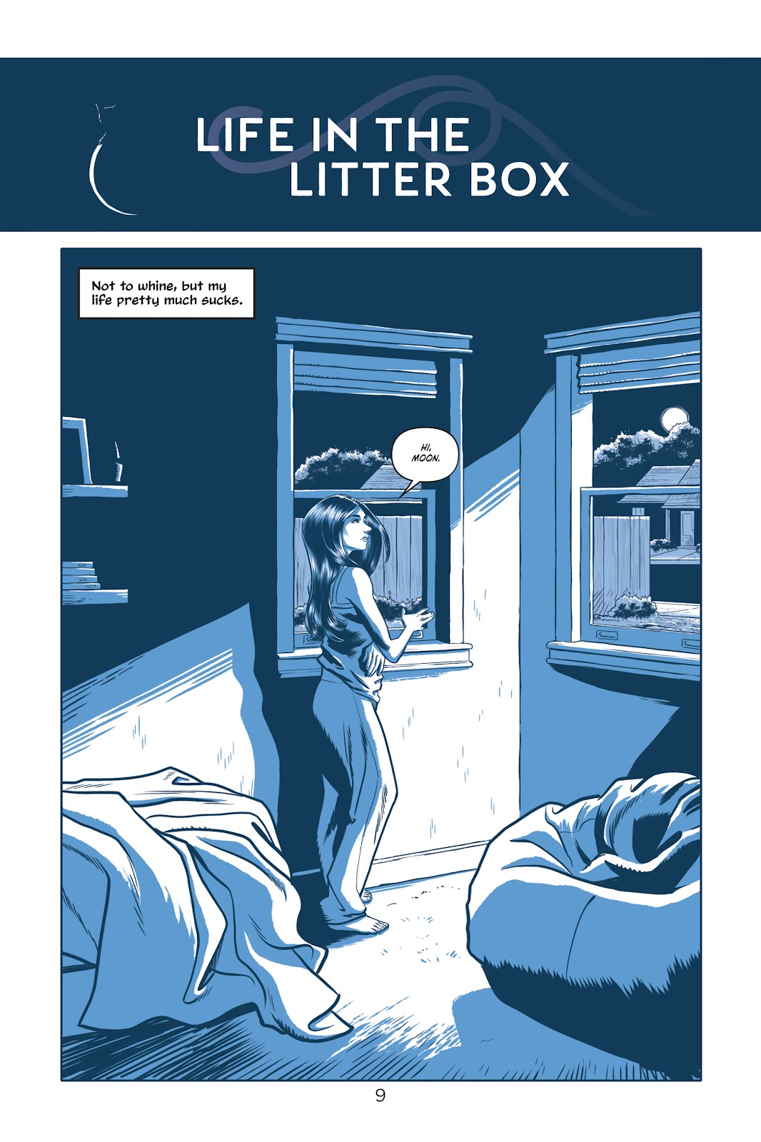 Read online Under the Moon: A Catwoman Tale comic -  Issue # TPB (Part 1) - 9
