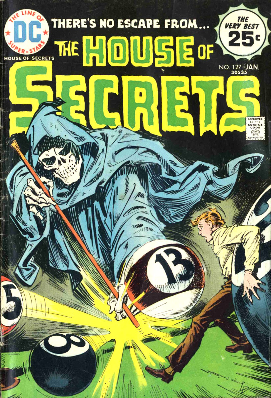 House of Secrets (1956) issue 127 - Page 1