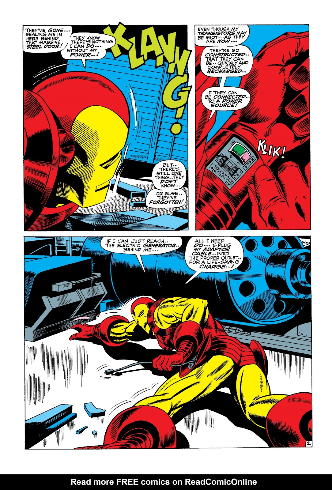 Read online Marvel Masterworks: The Invincible Iron Man comic -  Issue # TPB 4 (Part 2) - 38