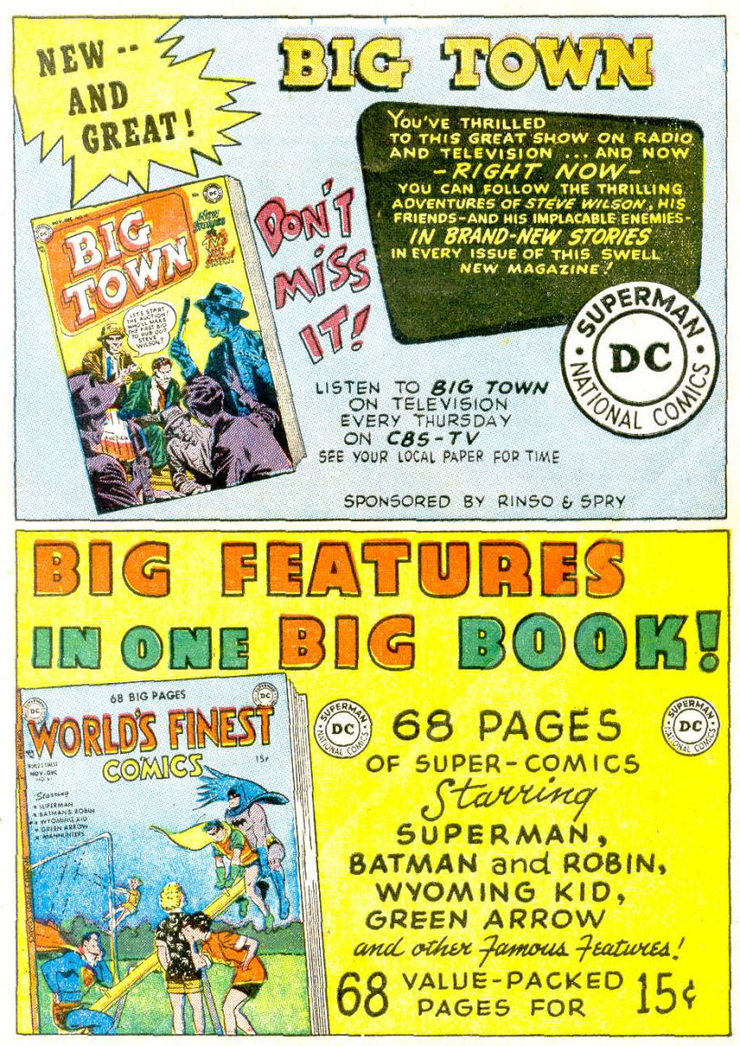 Read online Sensation (Mystery) Comics comic -  Issue #112 - 33