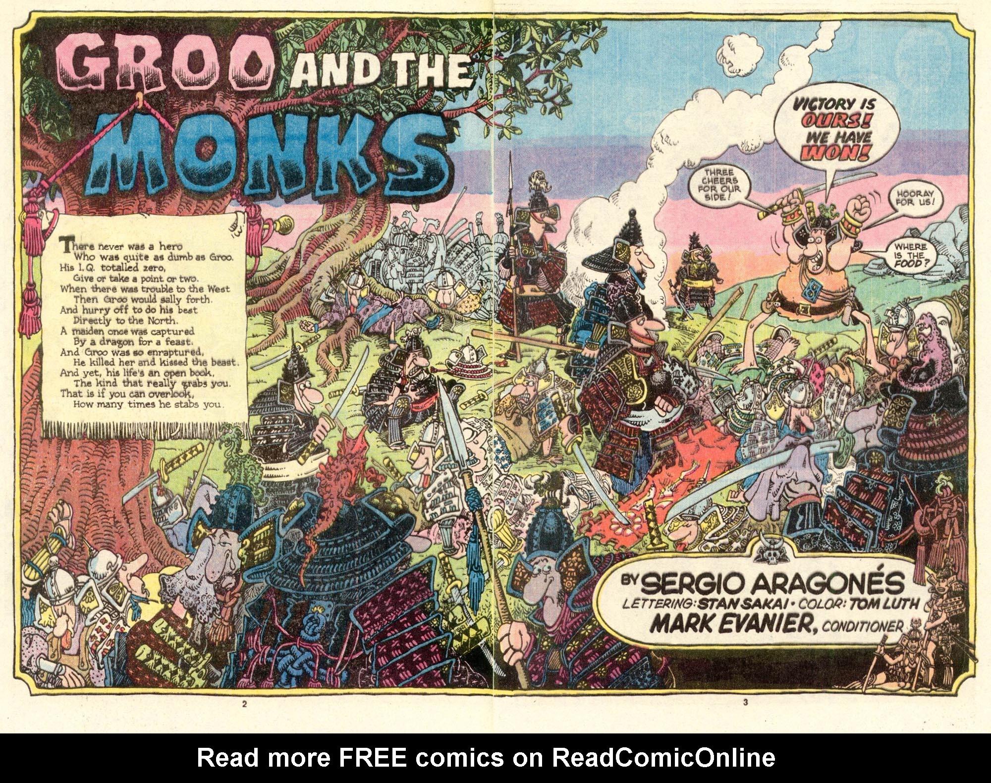 Read online Sergio Aragonés Groo the Wanderer comic -  Issue #15 - 3
