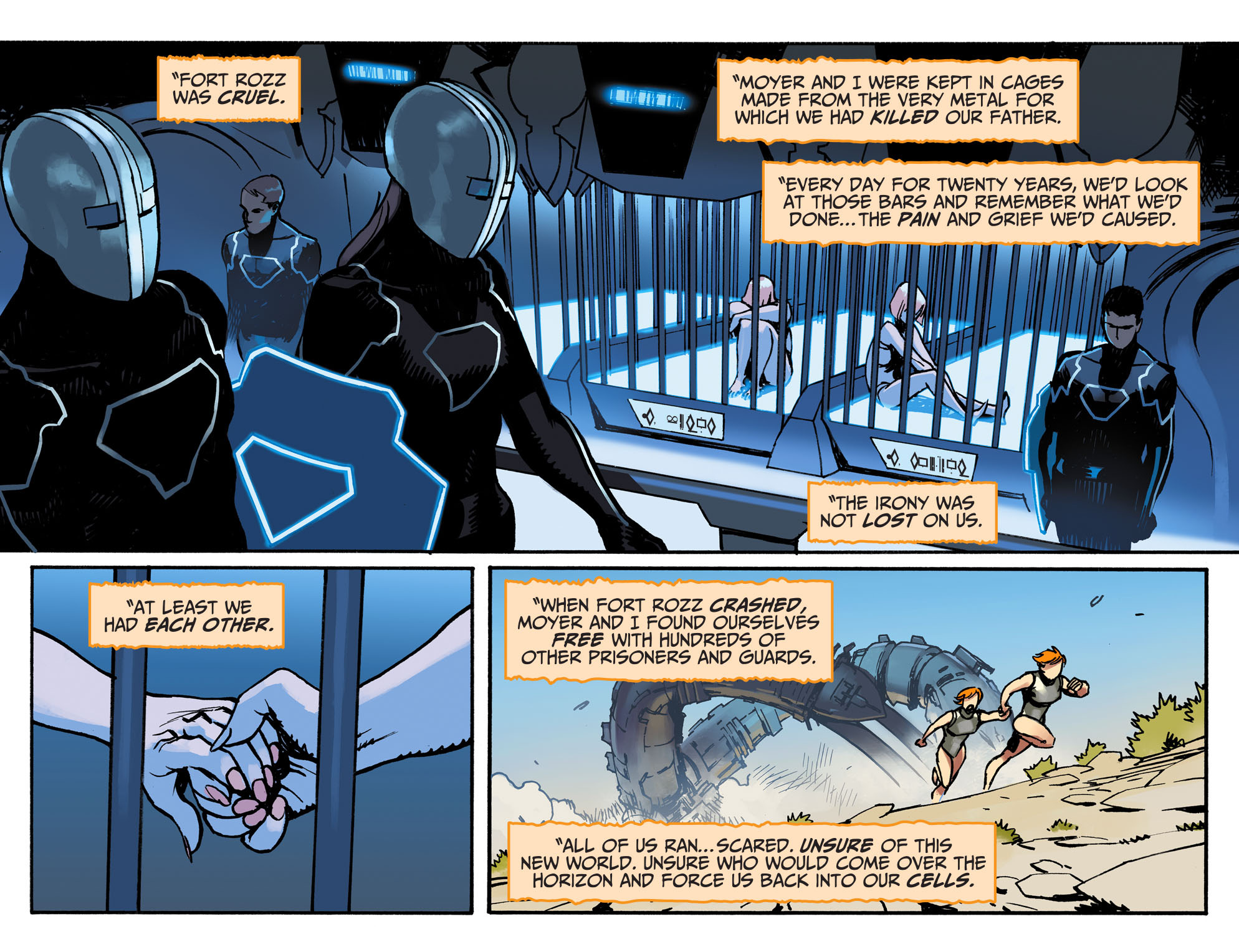 Read online Adventures of Supergirl comic -  Issue #3 - 9