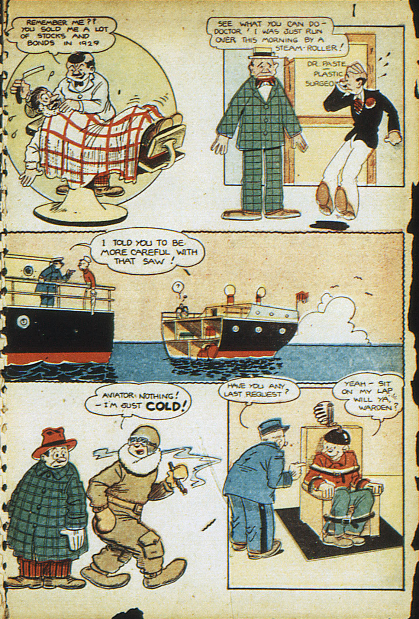 Read online Adventure Comics (1938) comic -  Issue #13 - 35