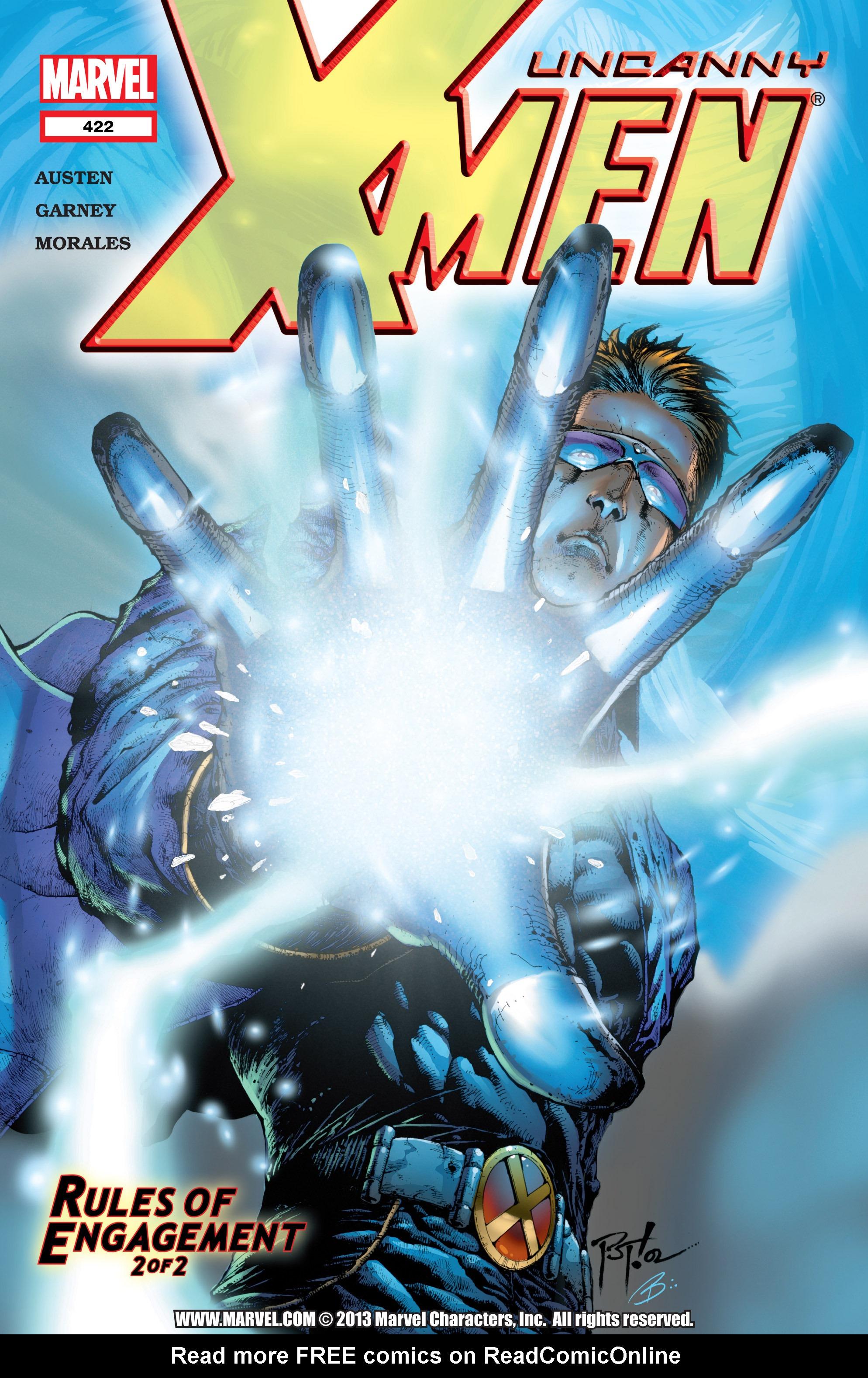 Uncanny X-Men (1963) 422 Page 1