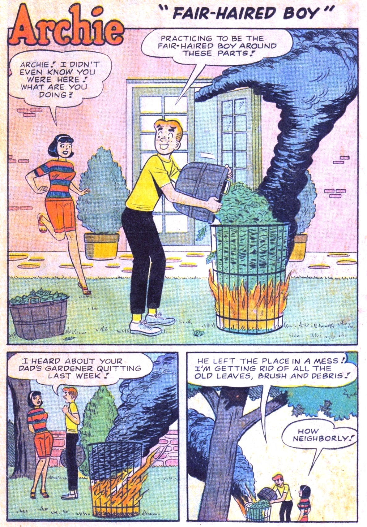 Read online Archie (1960) comic -  Issue #168 - 13
