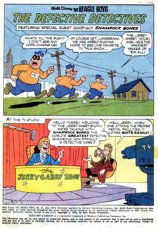 Walt Disney THE BEAGLE BOYS issue 17 - Page 3