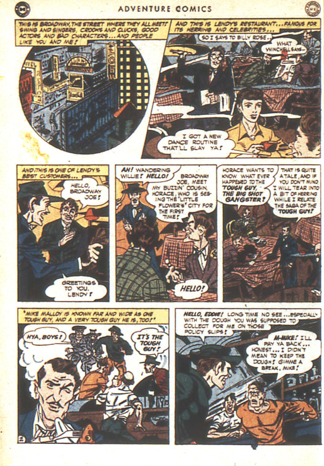 Read online Adventure Comics (1938) comic -  Issue #92 - 3