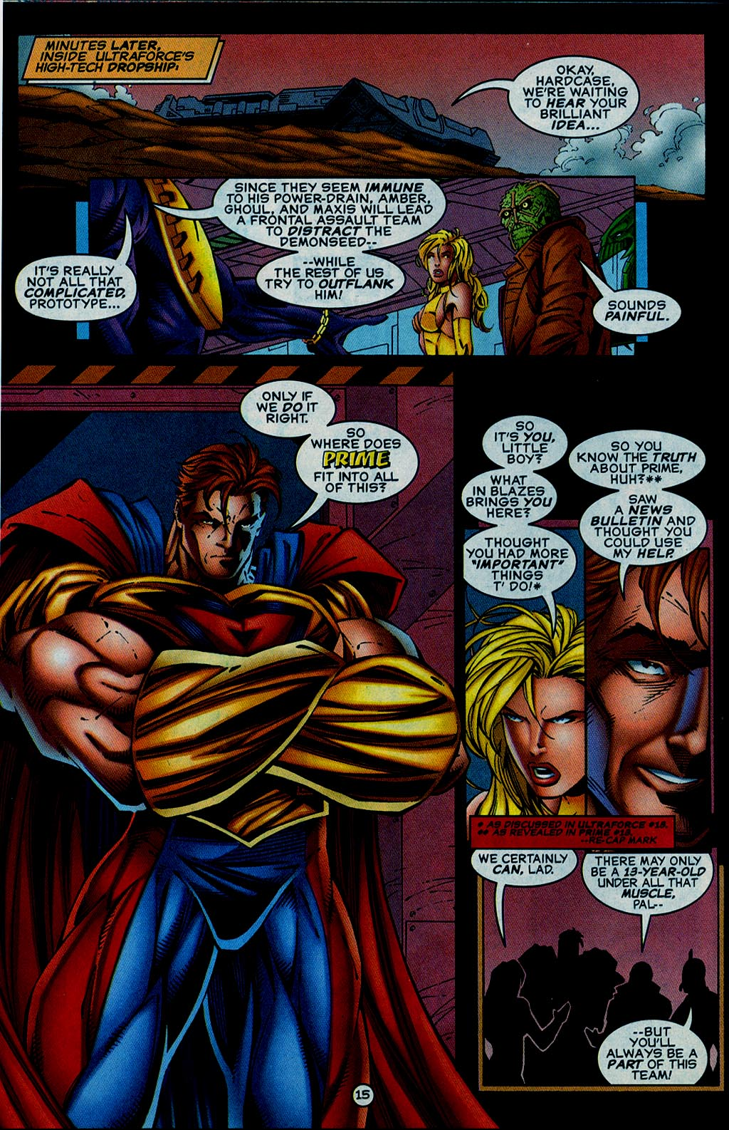 Read online UltraForce (1995) comic -  Issue #15 - 16