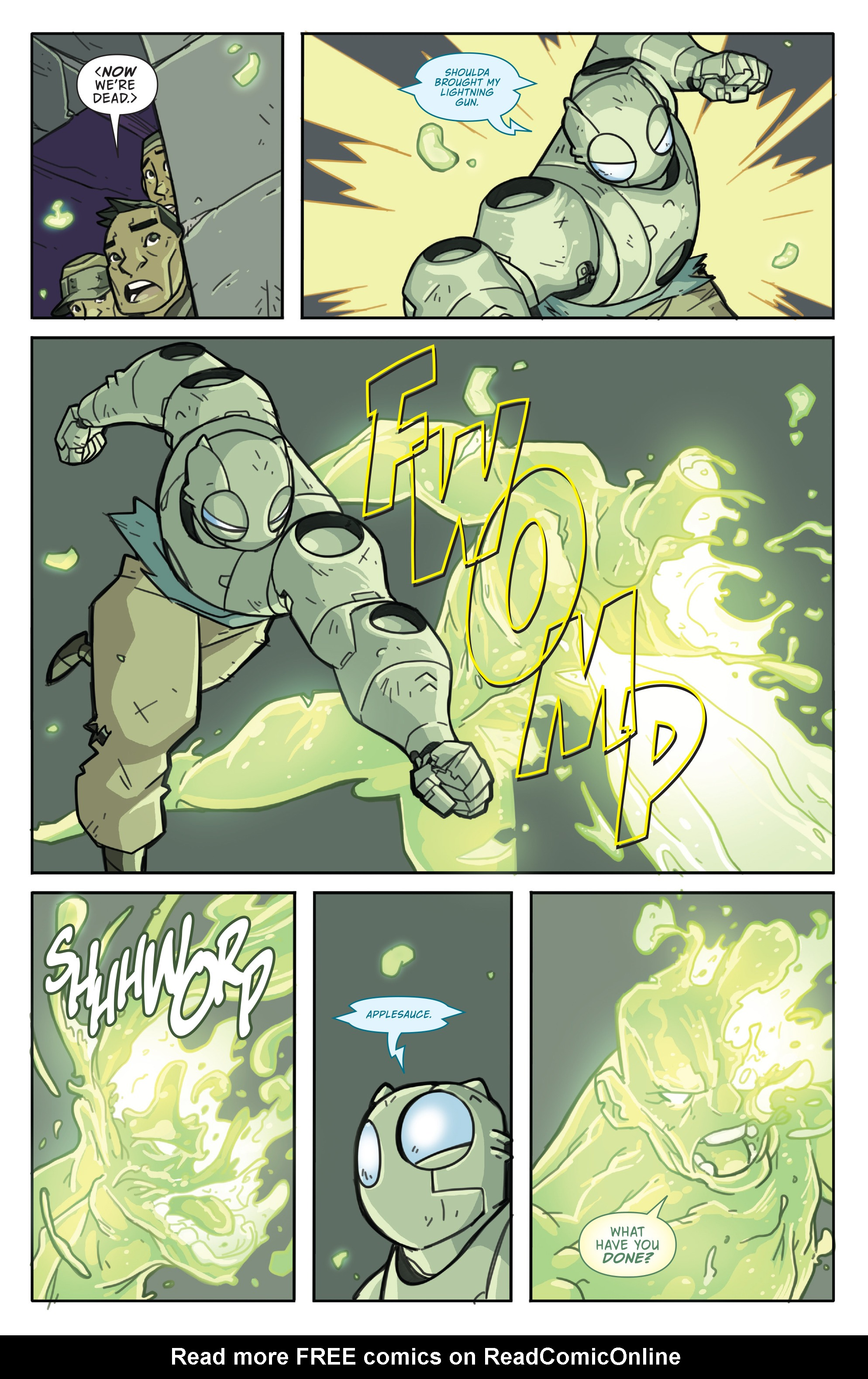 Read online Atomic Robo and the Temple of Od comic -  Issue #5 - 7