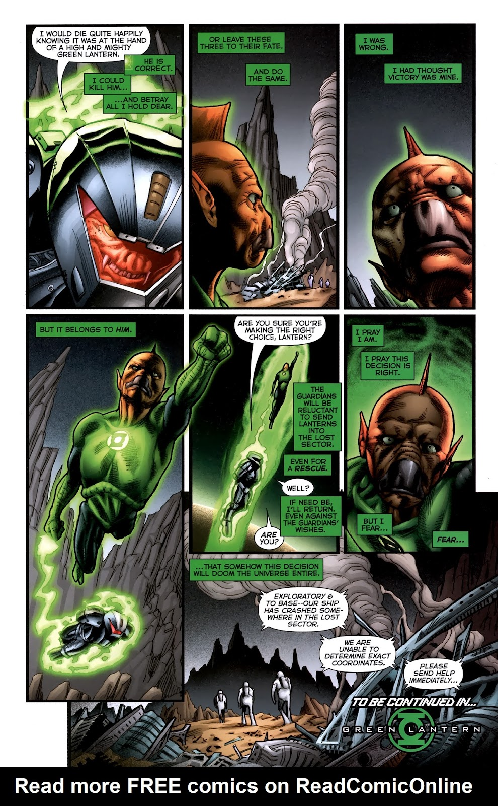 Read online Green Lantern Movie Prequel: Tomar-Re comic -  Issue # Full - 20