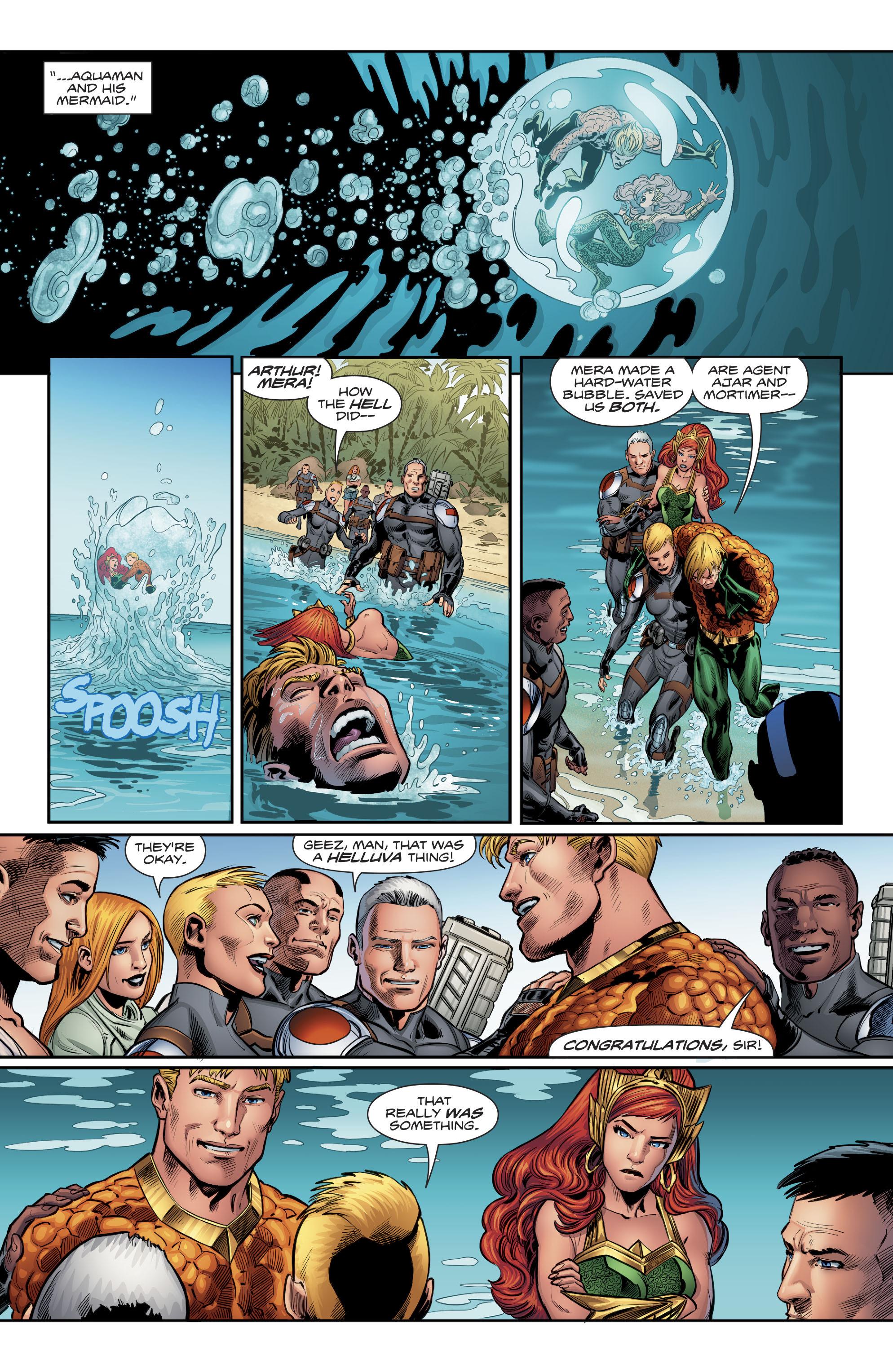 Read online Aquaman (2016) comic -  Issue #22 - 20