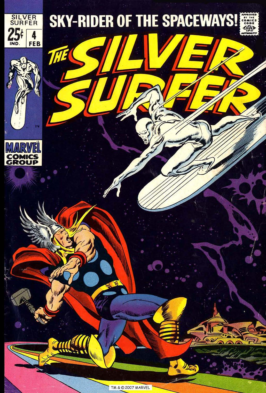 Silver Surfer (1968) issue 4 - Page 1