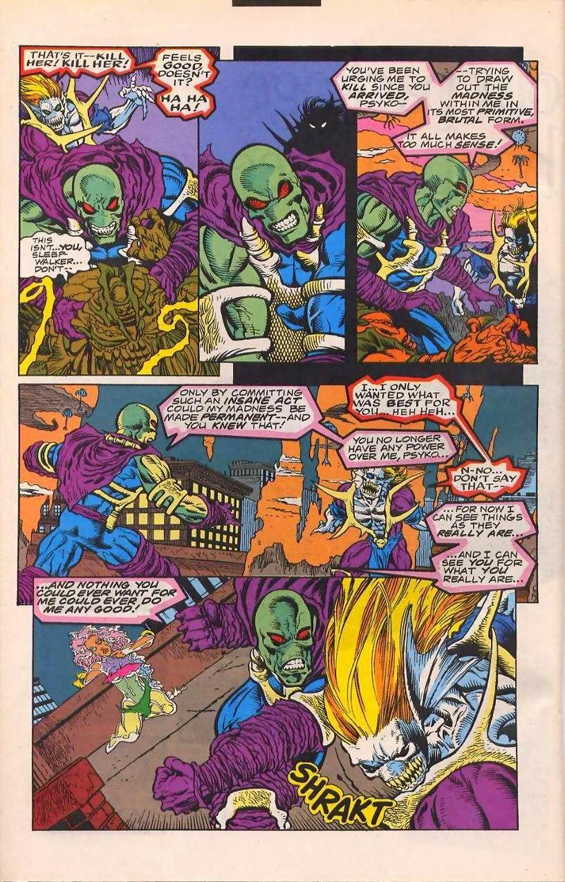 Read online Sleepwalker comic -  Issue #32 - 20