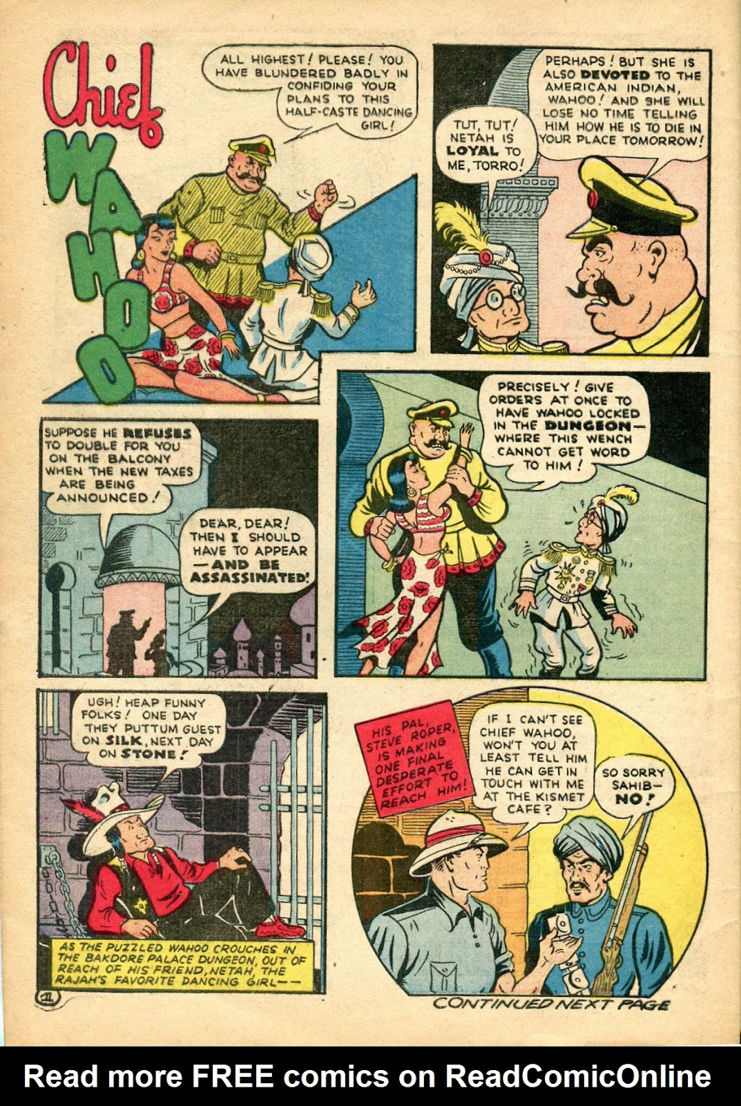 Read online Famous Funnies comic -  Issue #110 - 54