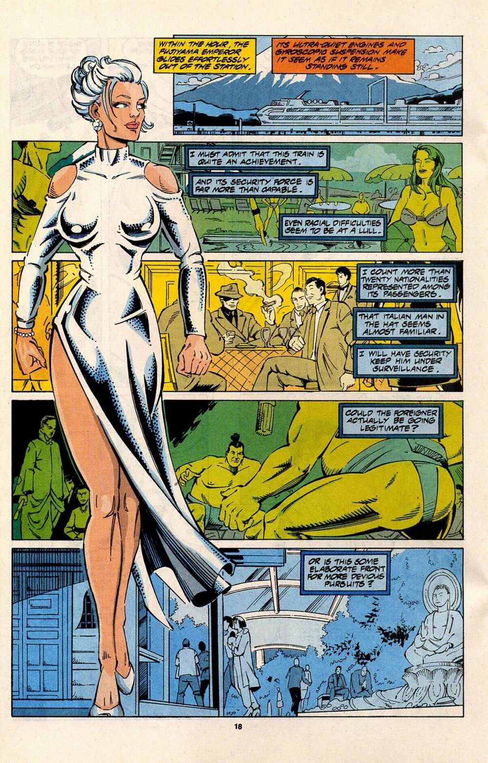 Read online Silver Sable and the Wild Pack comic -  Issue #31 - 15