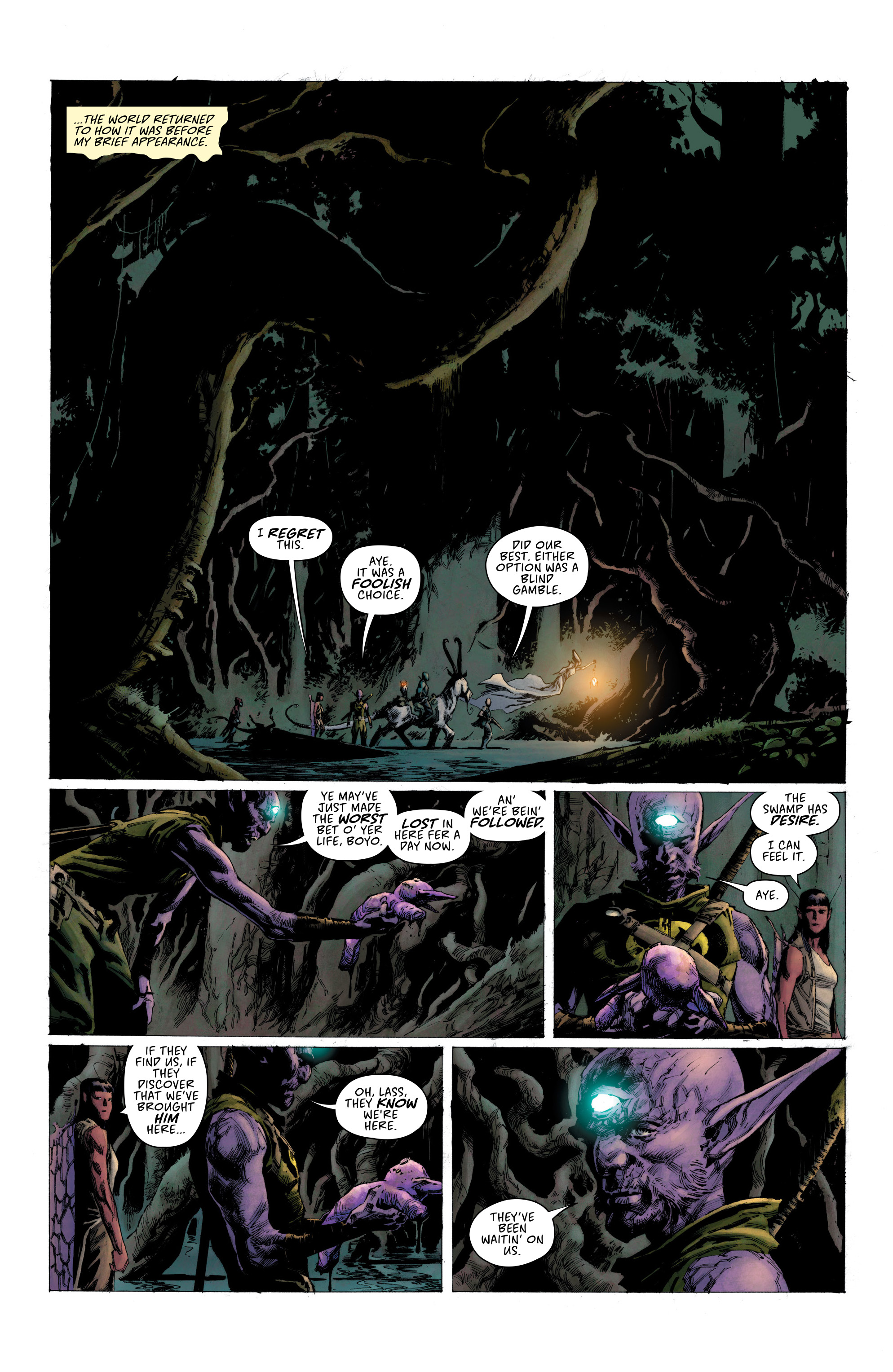 Read online Seven To Eternity comic -  Issue #6 - 6