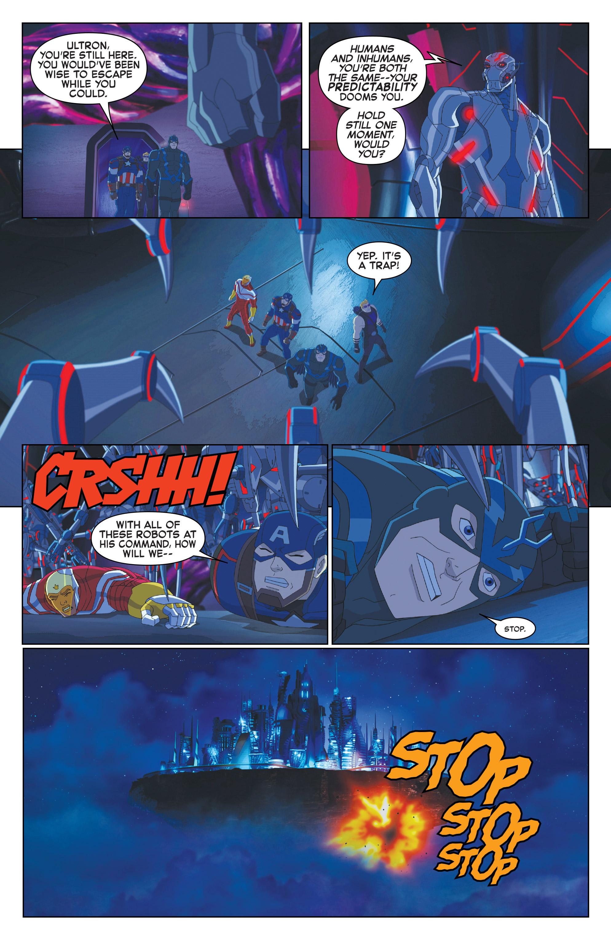 Read online Marvel Universe Avengers: Ultron Revolution comic -  Issue #10 - 12