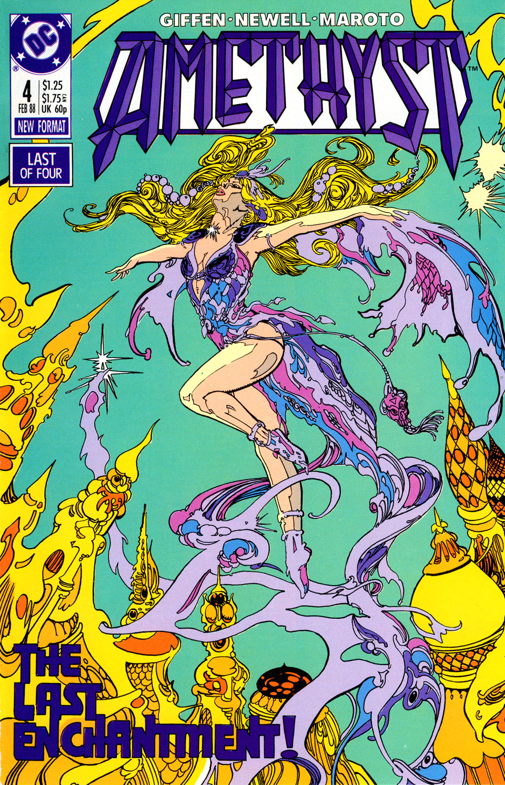 Read online Amethyst (1987) comic -  Issue #4 - 1