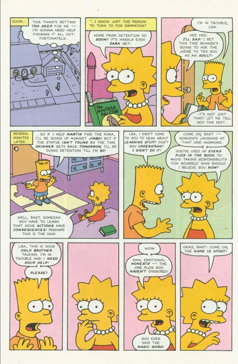 Read online Simpsons Comics comic -  Issue #3 - 13