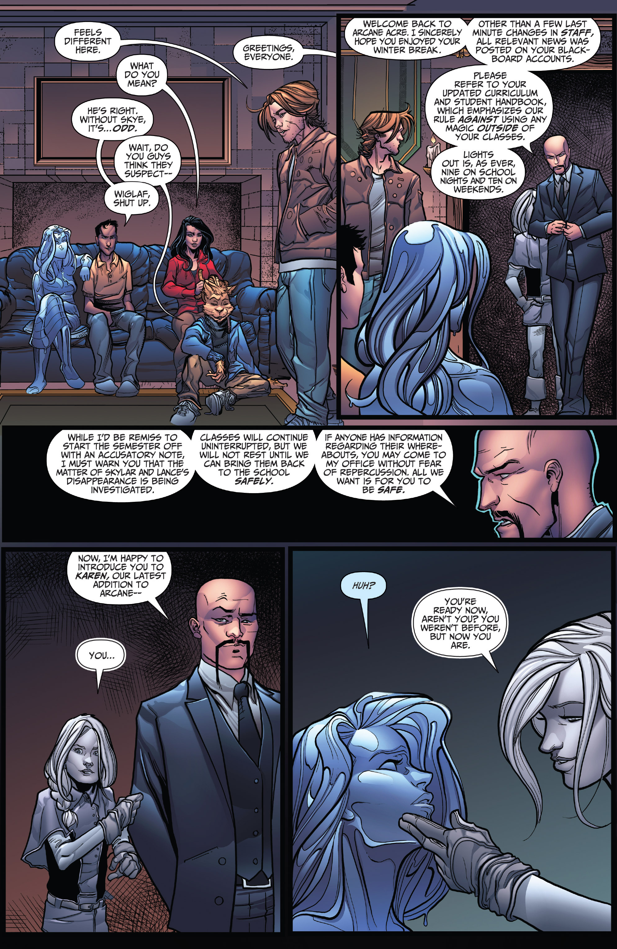 Read online Grimm Fairy Tales: Arcane Acre comic -  Issue # TPB 4 - 10