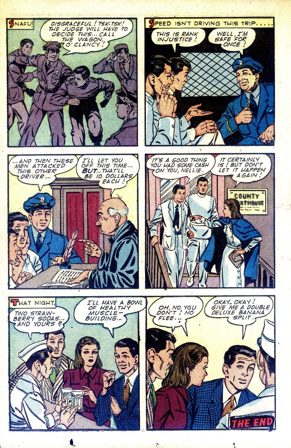 Read online Nellie The Nurse (1945) comic -  Issue #2 - 24